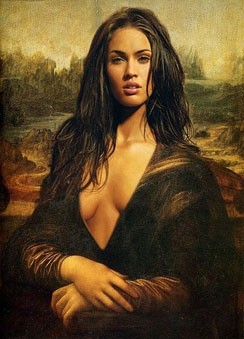 cam girl mona lisa